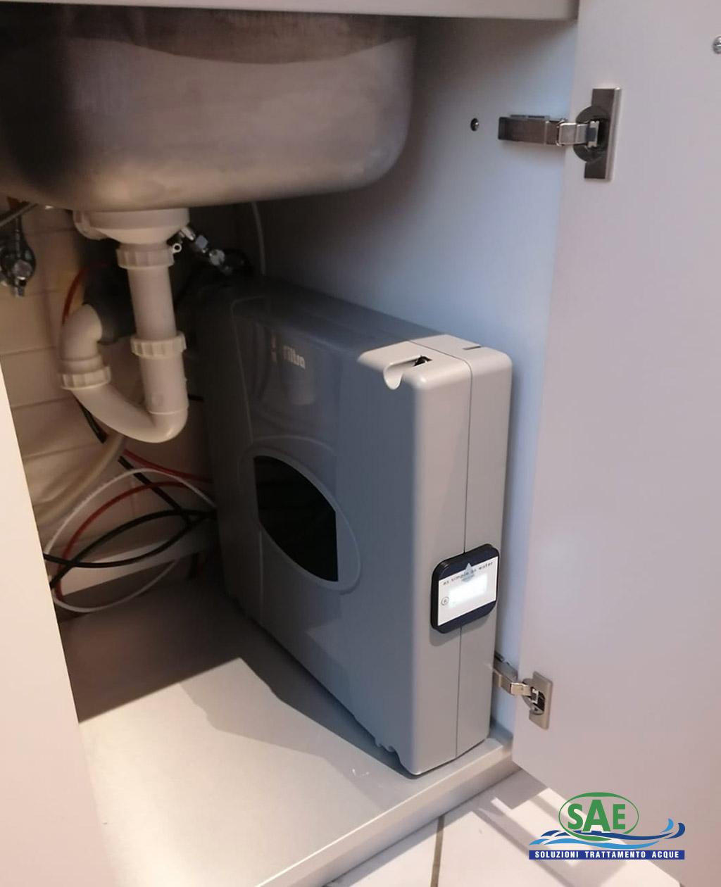 HDO Osmosi Inversa Installazione Sottolavello | SAE TECNOLOGY